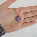 Rose Gold Hypoallergenic Ashes Necklace