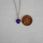 Silver Hypoallergenic Ashes Necklace