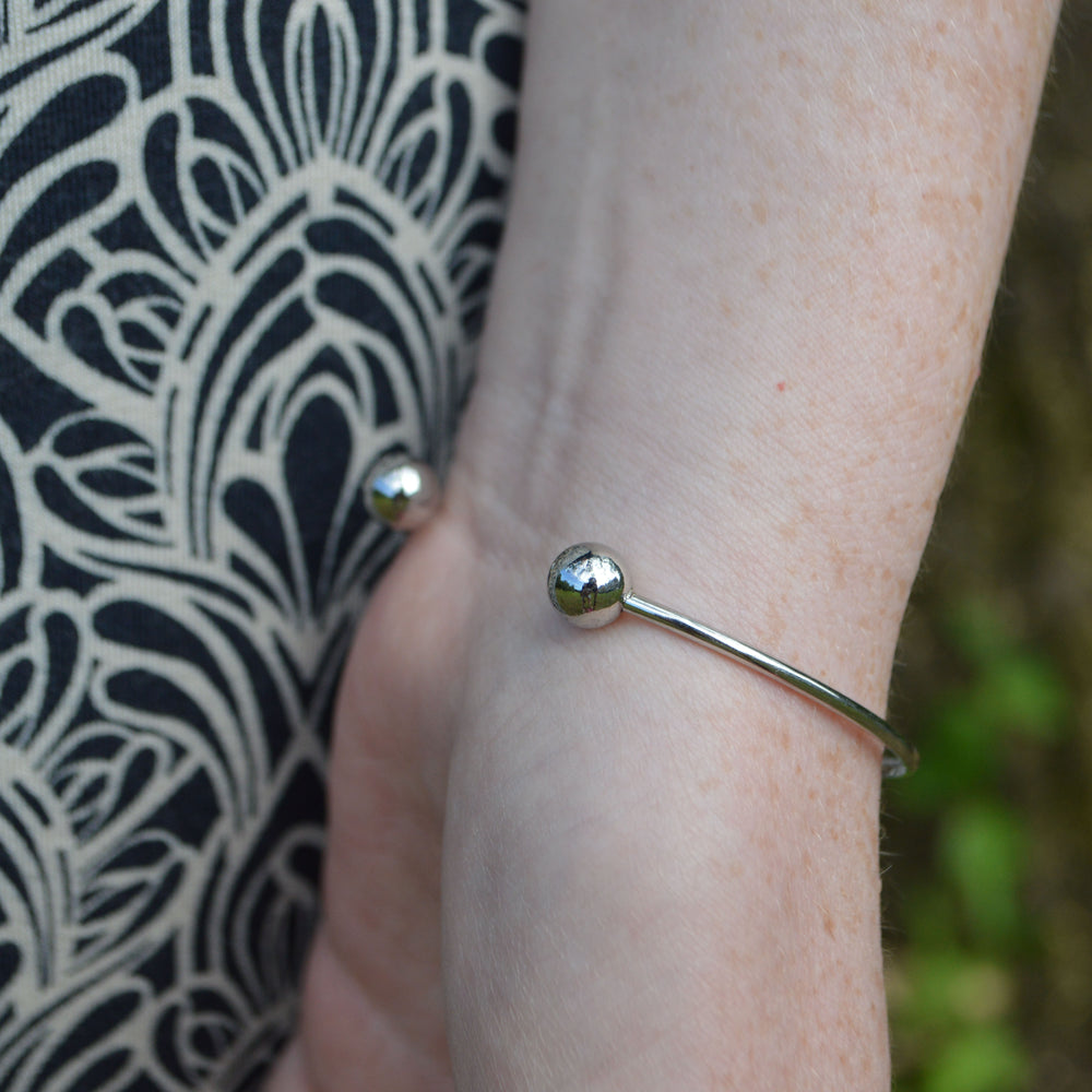 Stainless Hypoallergenic Ashes Cuff Bracelet