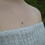 Genuine Lunar Meteorite Moon Dust & Shooting Star Necklace
