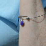 Stainless Hypoallergenic Ashes Bangle Bracelet