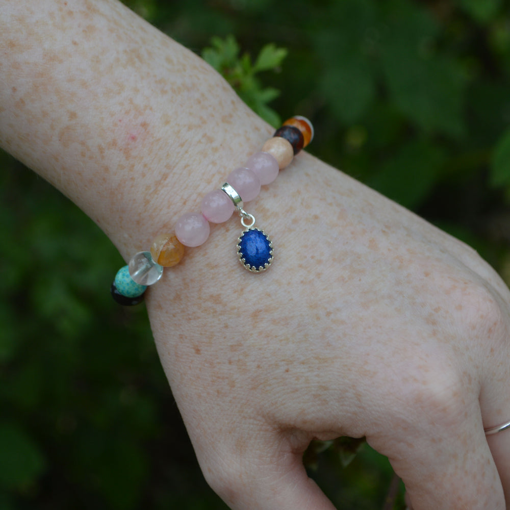 Princess Small Stone Deluxe Healing Ashes Bracelet