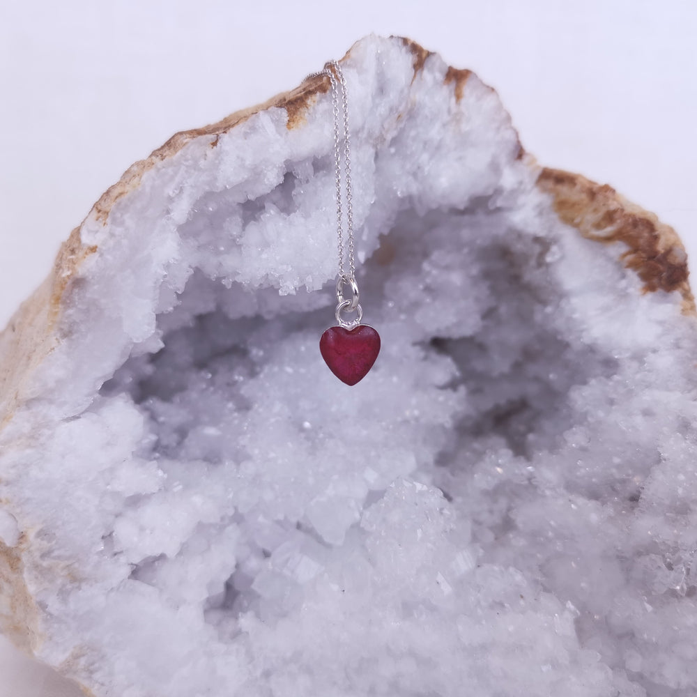 Phoenix Heart Ashes Necklace