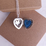 Large Heart Ashes Locket