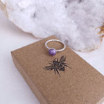 Phoenix Twisted Band Ring