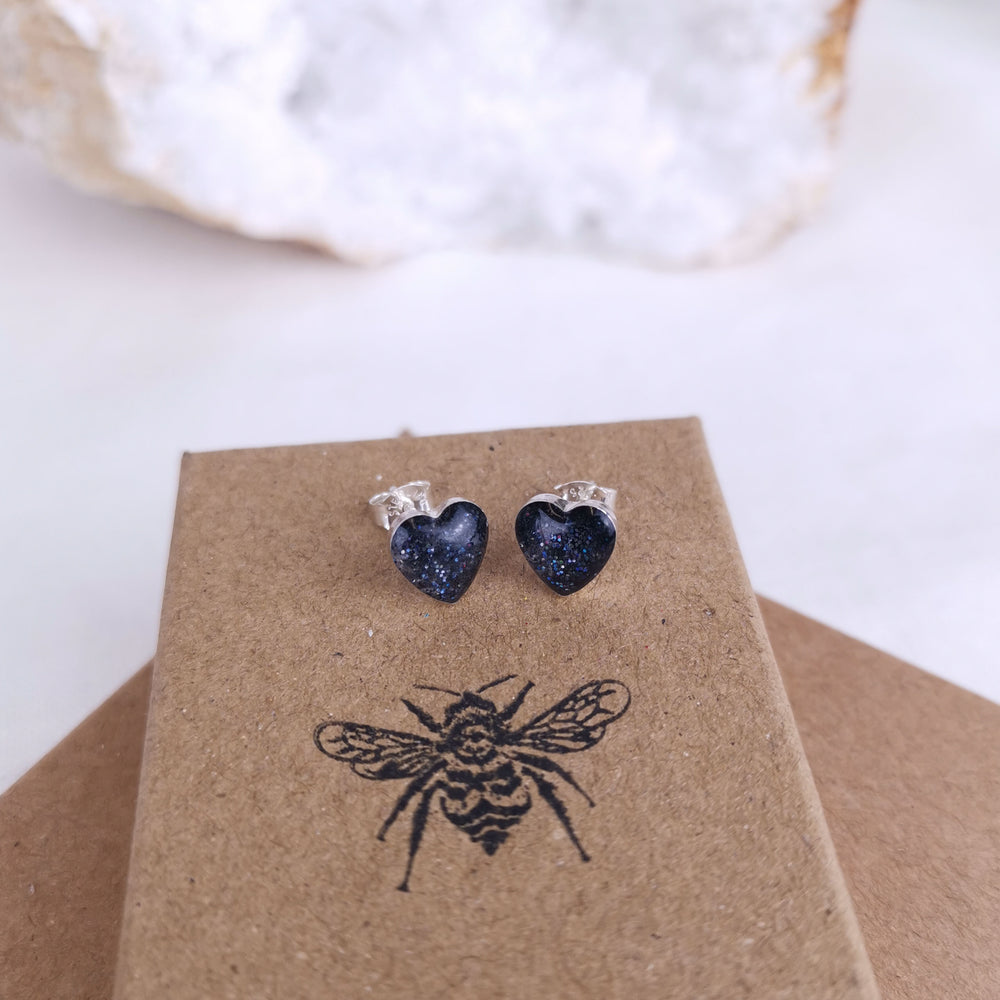 Heart Ashes Earrings