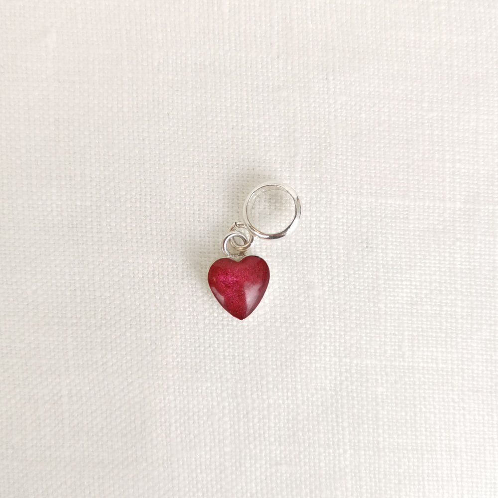 Phoenix Heart Ashes Charm