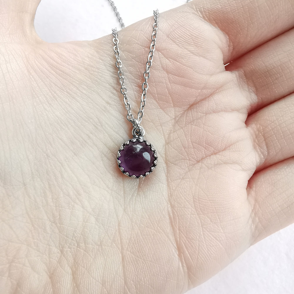 Amethyst Small Necklace