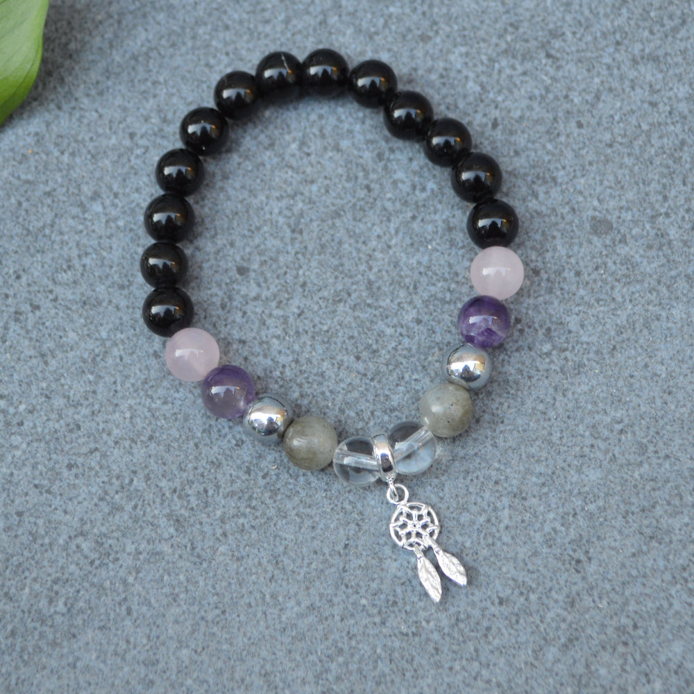 Sleep Support Crystal Healing Bracelet