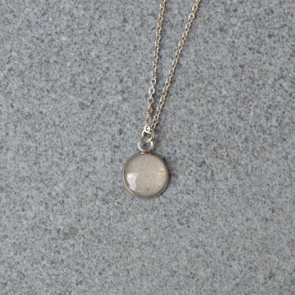 Genuine Moon Dust Hypoallergenic Necklace