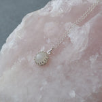 Genuine Lunar Moon Dust  Princess Necklace