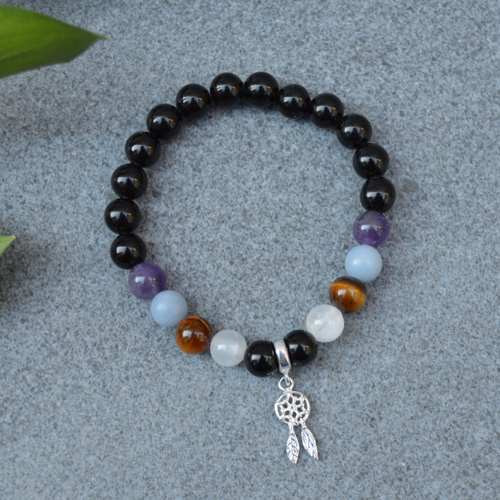 Travel Protection Crystal Healing Bracelet