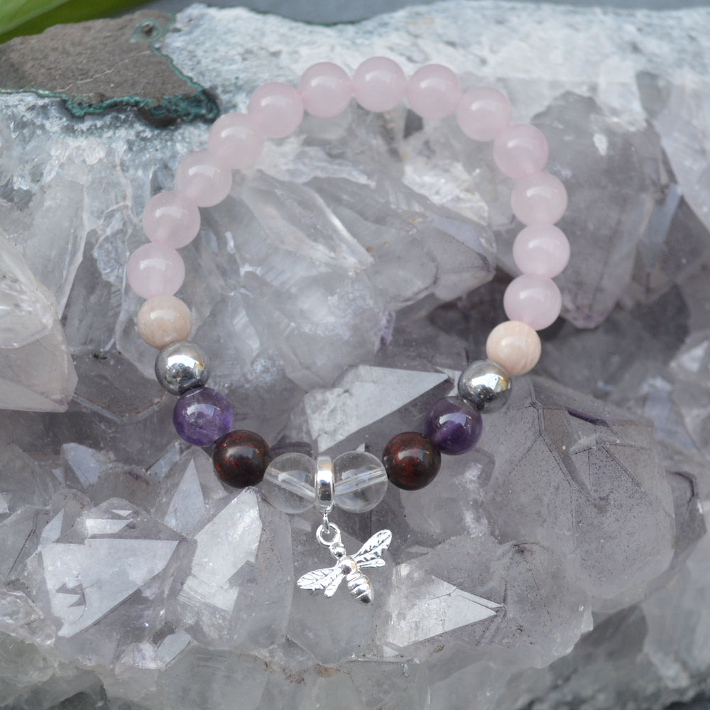 Weight Loss Support Crystal Healing Bracelet