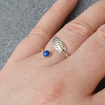Angel Wing Wrap Phoenix Small Stone Ring