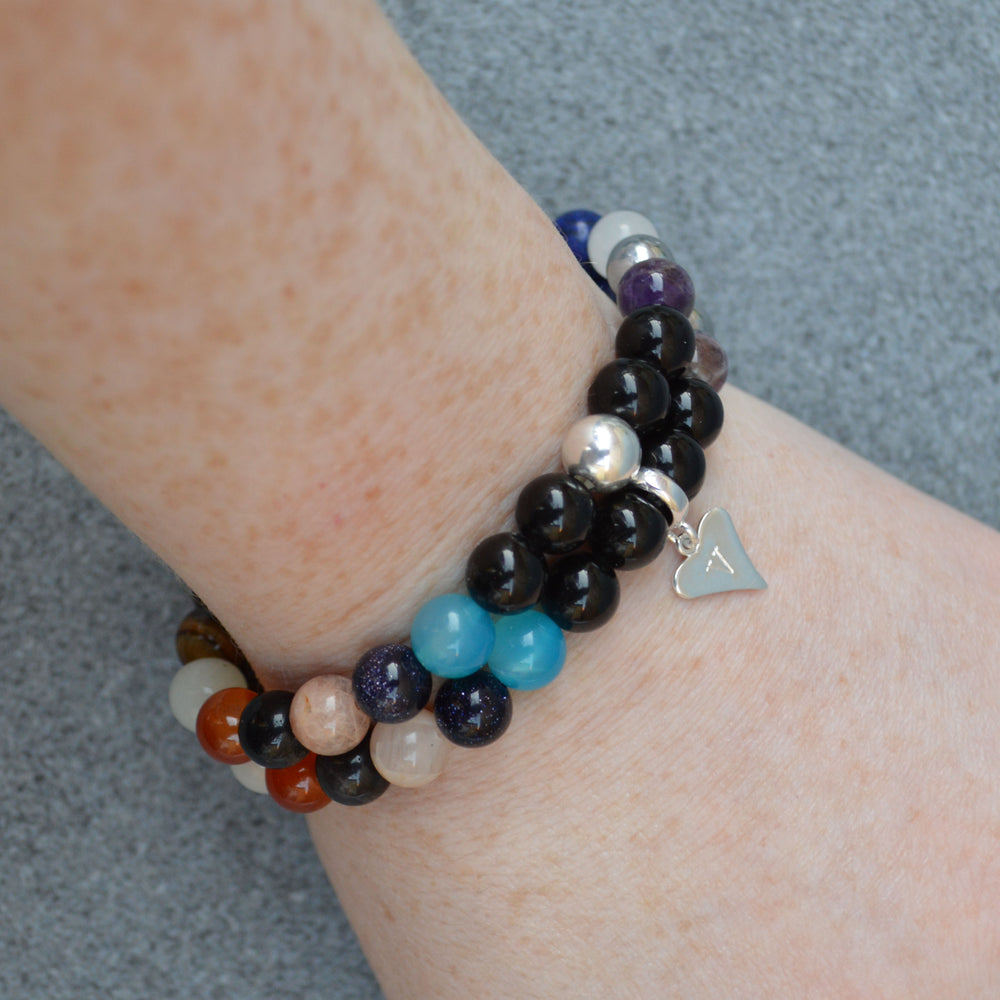 Anxiety Support Crystal Healing Bracelet