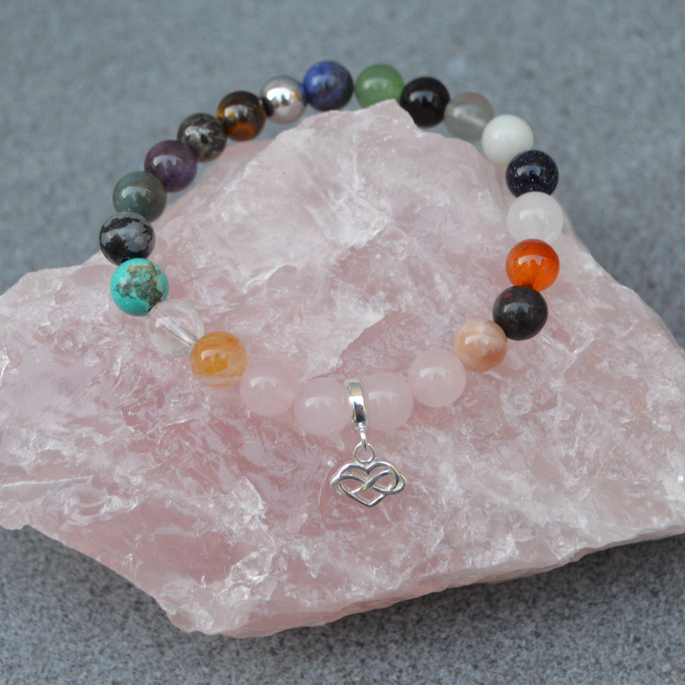 Mind, Body & Spirit Crystal Healing Bracelet