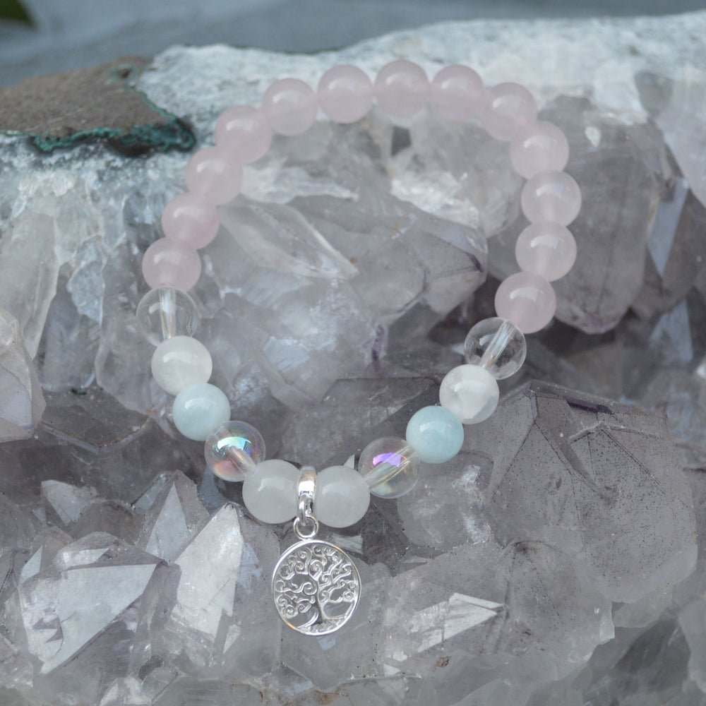 Daughterly Love Crystal Healing Bracelet