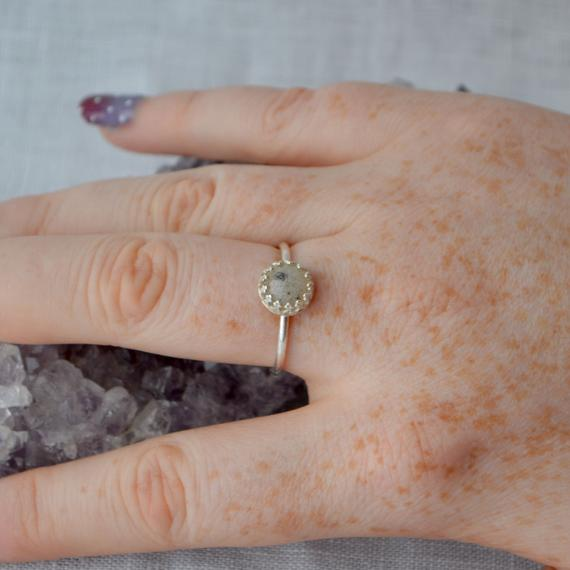 Genuine Moon Dust Princess Ring