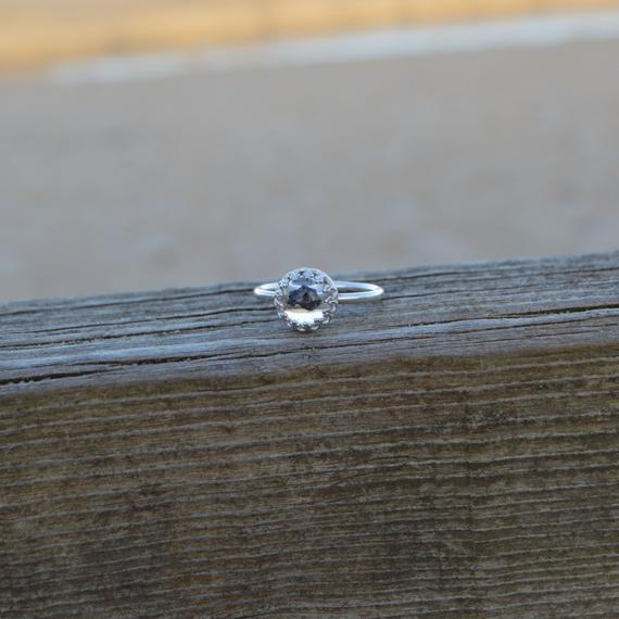 Genuine Shooting Princess Full Band Ring