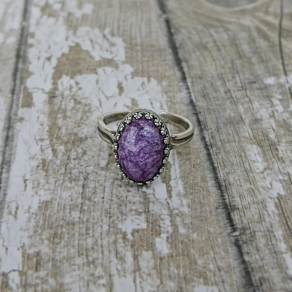 Princess Medium Stone Ring