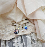 Something Old, Something New, Something Borrowed, Something Blue Vintage Gold Pin