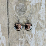 Large Dangled Personalised Earrings