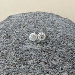 Genuine Lunar Moon Dust Princess Stud Earrings