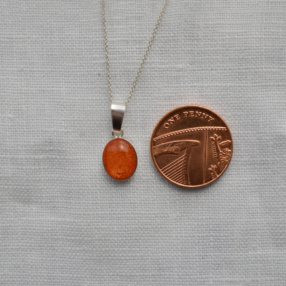 Phoenix Small Stone Ashes Necklace