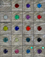Ashes and Cremation stone colour chart