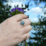 Princess Small Stone Ring