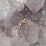 Rose Gold Genuine Shooting Phoenix Ring