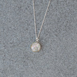 Phoenix Medium Round Stone Ashes Necklace