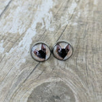 Personalised Medium Hypoallergenic Stainless Stud Earrings