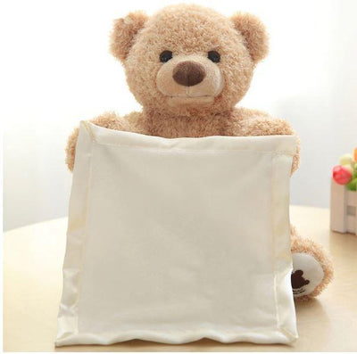 Peek-A-Boo Talking Teddy Bear - Buz buys