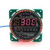 DIY Rotating LED Display Electronic Clock Module Color Blue LED Lamp Over Ten Led Display Actions