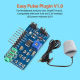 Easy Pulse Plugin V1.0 for Arduino Finger Pulse Sensor Heart Rate Modules DIY Project Kits Student Makers Open Source