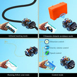 Hummer-Bot Smart Car For Arduino With Educational STEM Learning Kit