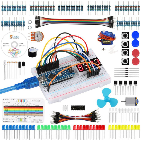 Keywish for Arduino Nano Project Super Starter Kit with Detailed Tutorial for UNO R3 Mega 2560