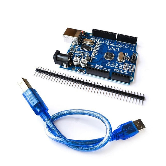 Keywish for Arduino One Set UNO R3 ATMEGA328P-AU CH340G USB CABLE ATMEGA328P-AU Development Board