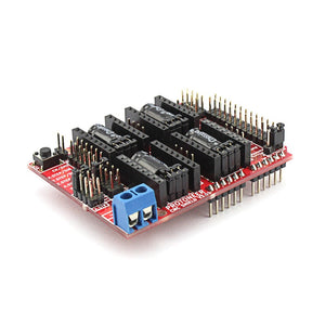 CNC Shield V3.51 for Arduino 3D Printer Development Board Micro Controllers GRBL v0.9 Compatible Uses Pololu Drivers