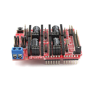 CNC Shield V3.51 Expansion Board for Arduino 3D Print Compatible with PWM Spind Board CNC Projects Uses Pololu Drivers
