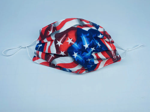 American Flags Face Mask