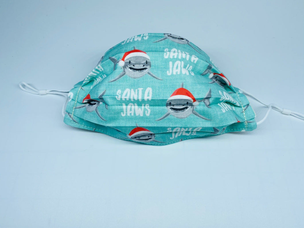 Santa Jaws Face Mask - Limited Quantity!