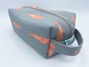 Dopp Kit - Gray Whales