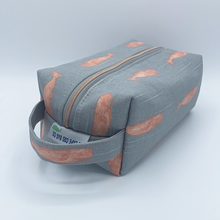 Load image into Gallery viewer, Dopp Kit - Gray Whales