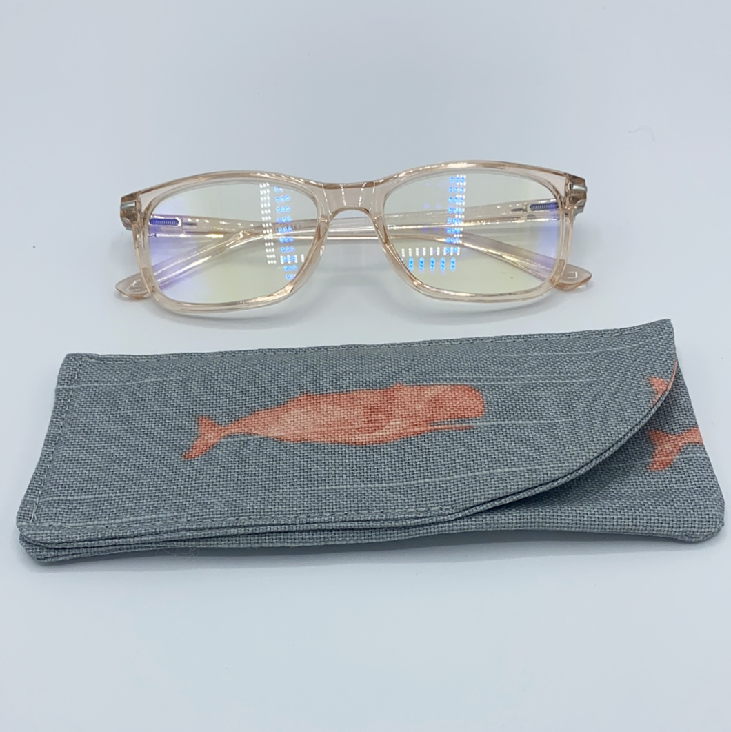 Eyeglass Case - Gray Whales