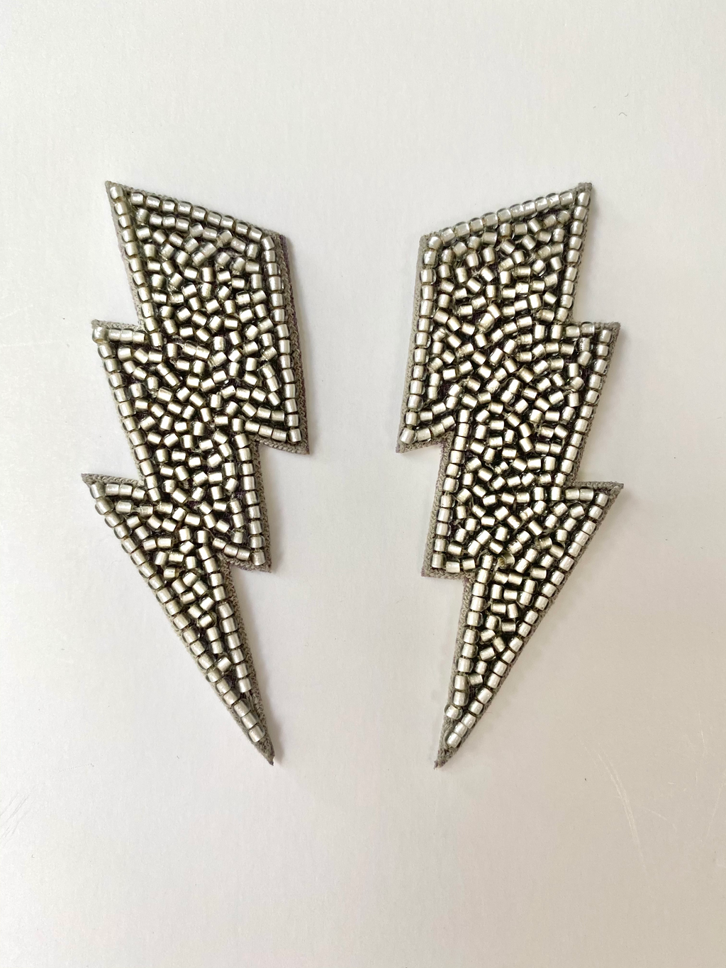 Silver Bolt Earrings