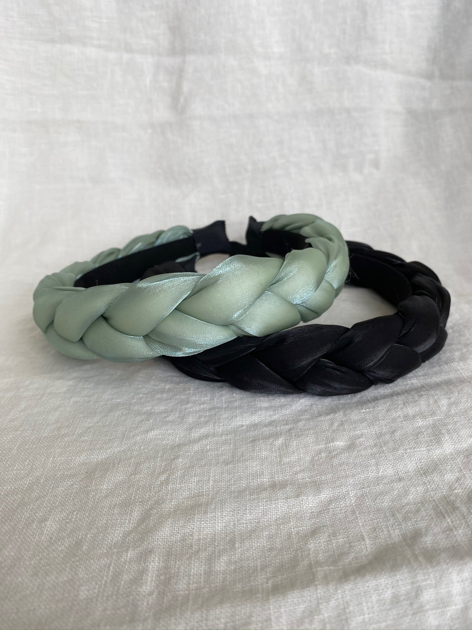 Teal Braided Headband
