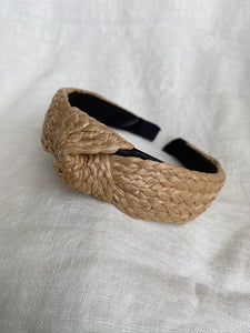 Natural Knotted Headband