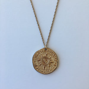 Poseidon Coin Necklace